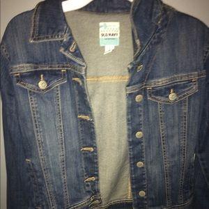 Kids XL Old Navy Dark Blue Wash Denim Jacket